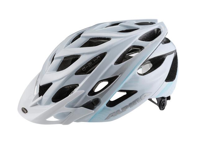 Alpina D-Alto Cykelhjälm blå/vit